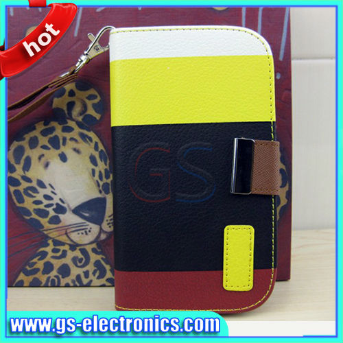 Colourful wallet case for SamSung galaxy S3 case