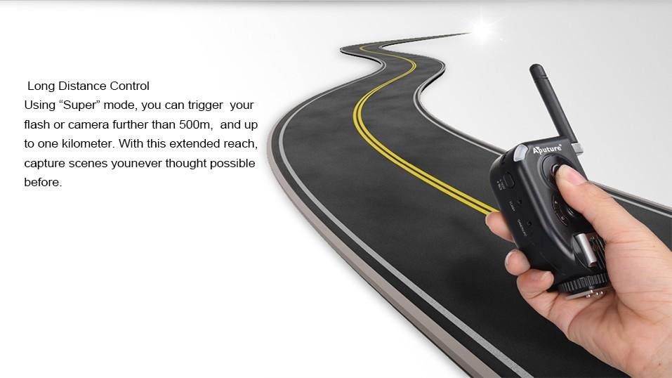 Потребительская электроника New Aputure Wireless Trigmaster Plus II TXII 2.4G Flash Trigger For DSLR Camera