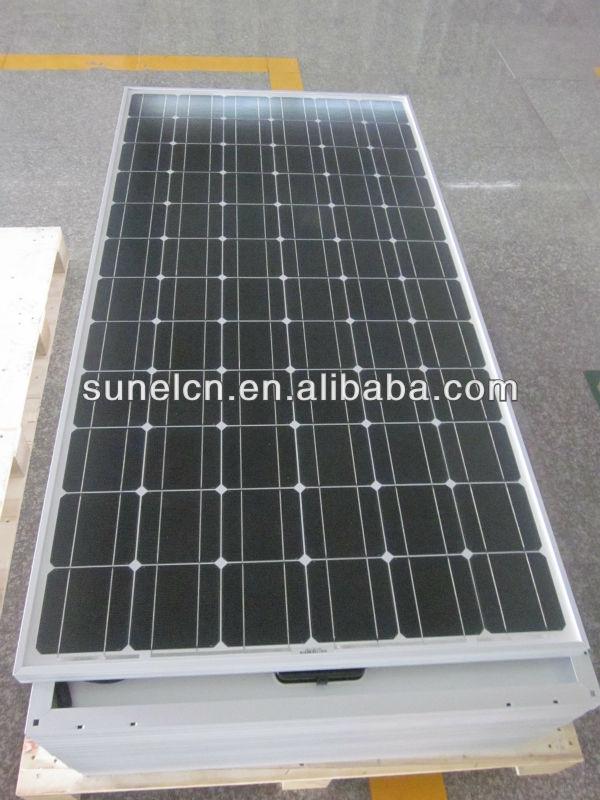 180W-200W mono crystalline solar panel, PV module, for solar power plant with TUV, IEC, CE, CEC certified