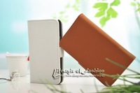 Fashion Leather Case For Samsung Galaxy S2 i9100 Wallet Pouch With Card Holder Stand Design Mobile Phone Accessory