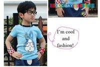 Футболка для девочки Kids Summer Beach Clothing Girls Flower Tank Tops Cute Summer Tops, 100% Cotton, K0453