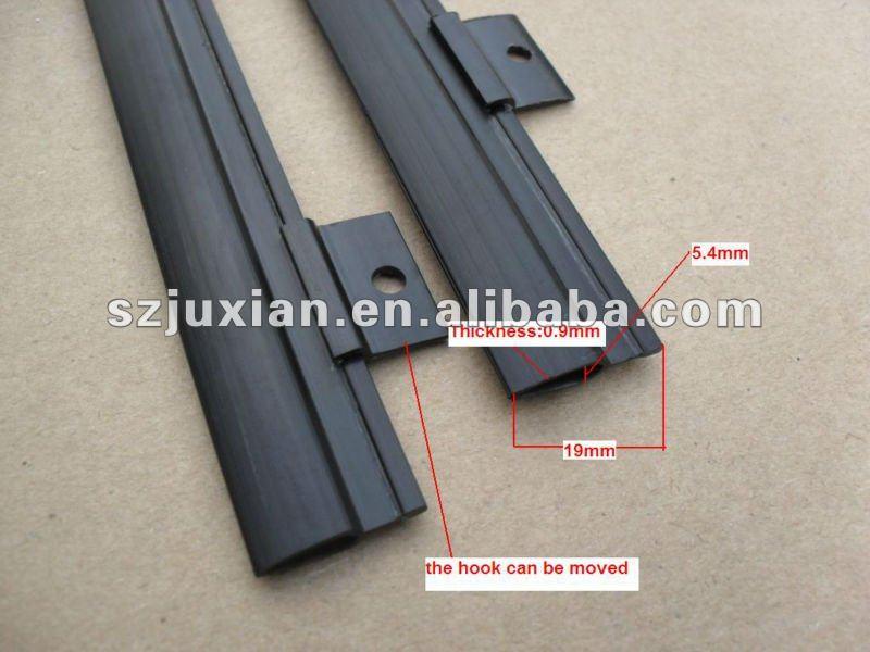 Plastic document clip plastic poster hangercalendar clip hanger design c design b malvernweather Images