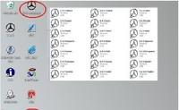 Программное обеспечение для диагностики авто и мото mercedes benz C3 IBM T30 HDD : 11 /2011