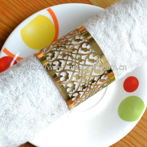 Wholesale Make Decorative Napkin Rings Handmade Napkin Rings Paper