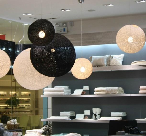 현대적인 등나무 펜던트 램프 그늘 화려한-샹들리에 및 조명 ...
