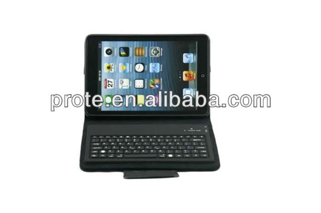 new Bluetooth Keyboard with Pu Leather Case for mini ipad