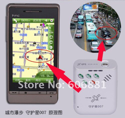 GPS Tracker ,vehicle tracker system for personal ,car, with SOS Tracking via SMS or GPRS