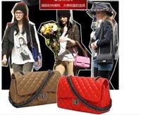 LX10960, 2012 FREE Shipping, Personalized New Fashion Brand Designal PU Women Noble Chains Shoulder Bag Handbag Tote Clutch bags