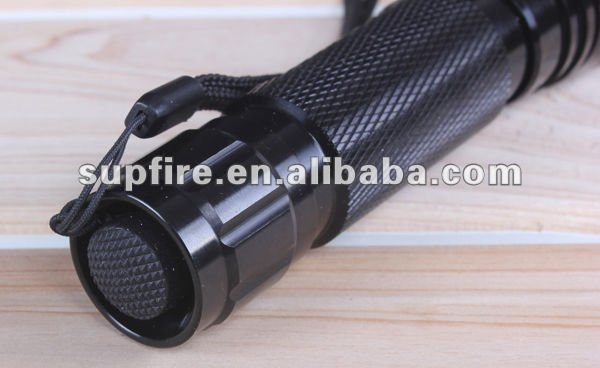 Supfire M4 aluminum alloy led solar torch