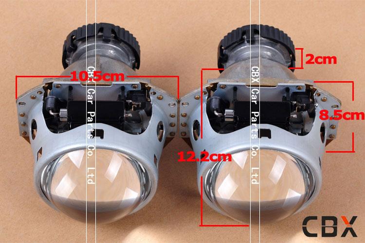 Купить Hotsale LHD Би-ксеноновые Объектив Проектора HELLA G3 для D1S D2S D2H D3S D4S Патрон Лампы Внутренние Ксеноновые Линзы фар