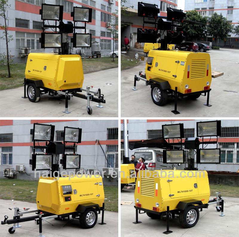 Light Generator Set Diesel Generator Set 4 x