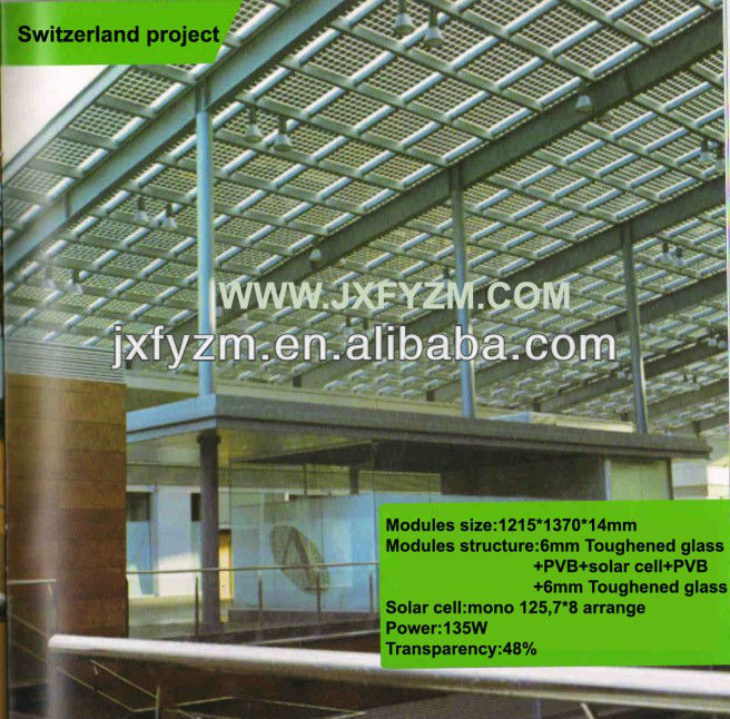100W Solar Panel,Solar System,BIPV TUV/IEC/CEC/CE