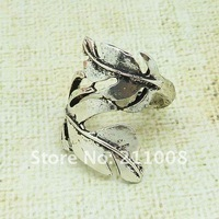 Free shipping,  new vintage  hollow  twining leaf finger ring, 2 colors, 12pcs/lot