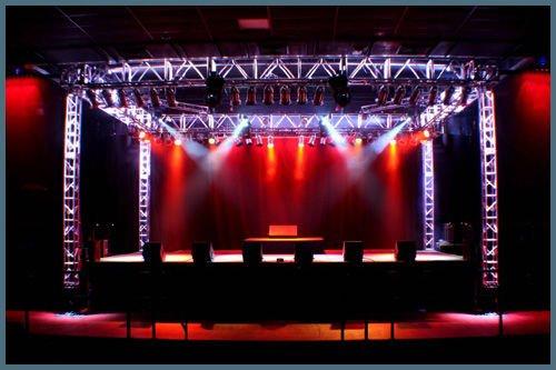 Outdoor Dj Concert Stage