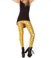 Женские носки и Колготки Sexy Fashion Pirate Leggings Galaxy Pants Digital Printing JAKE LEGGINGS For Women K213
