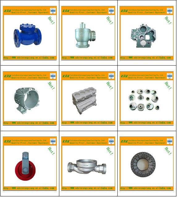 Custom sand cast grey iron/spheroidal graphite iron/ductile iron casting
