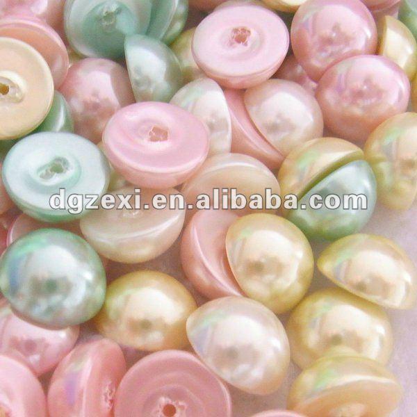 flat back plastic pearl