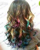 Пастель для волос EMS / retail Professional soft Quartet Hair color chalk hair dye crayons 10 sets
