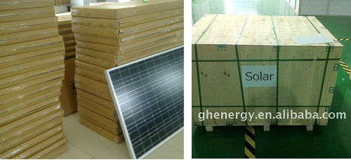 10W solar panel small size hot sale India
