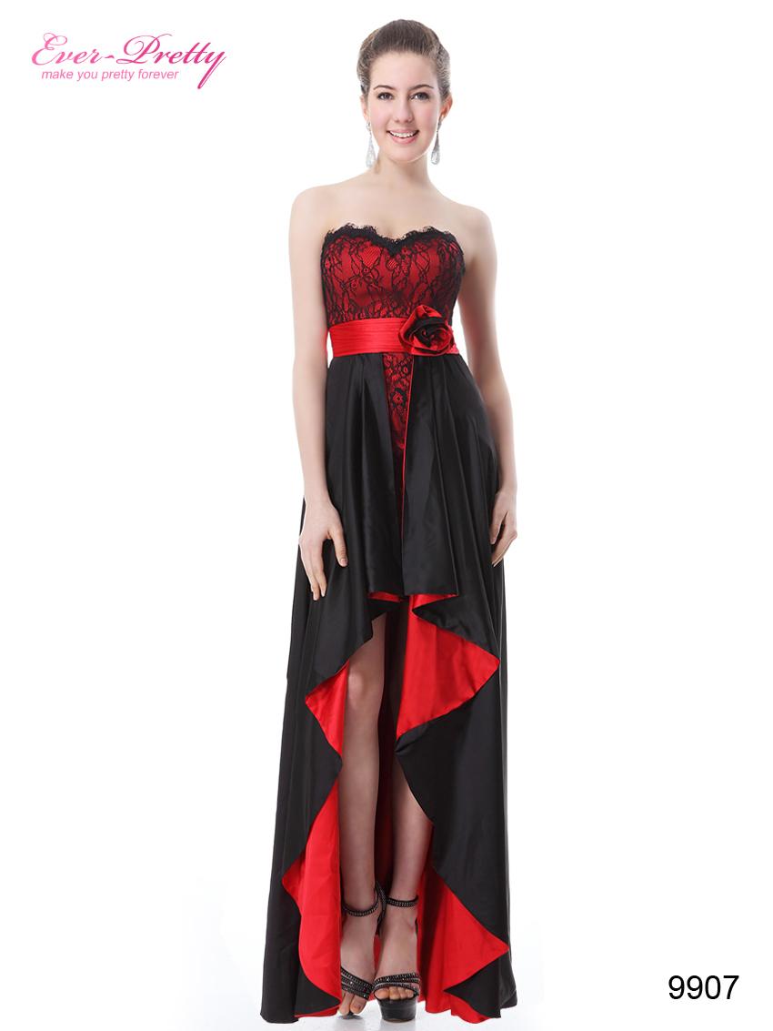 Красно Черное Платье