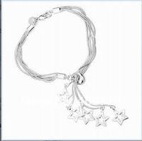 Оптовые браслеты и браслеты стерлинговое серебро 925 пробы smth153