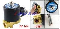 Wholesale DC 24V 2 Way 2 Position Pneumatic Solenoid Valve 2W-040-10