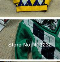 Свитер для мальчиков Sunlun Fantasy Zone Boys' False Two Pieces Woolen Yarn Sweater Woolen Yarn Sweater/SCB-4004