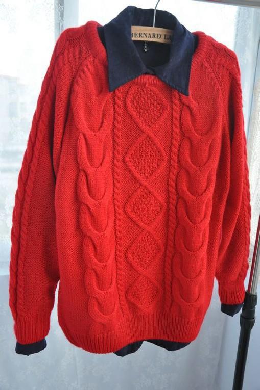 Красный Вязаный Джемпер С Доставкой