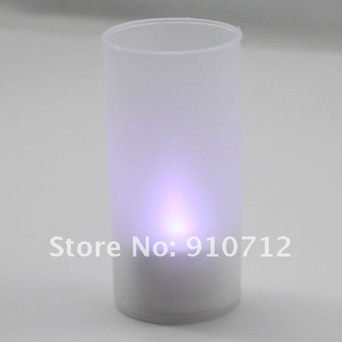 Free shipping LED Magic Color Changing Candle Light  ideal for romantic dating and dinner table