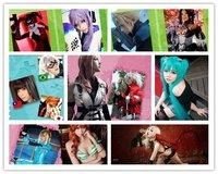 Маскарадный костюм VOCALOID BLACK ROCK SHOOTER BRS MIKU Cosplay costume Japanese Anime