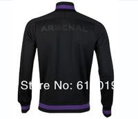 Arsenal black jackets 12-13 new style thailand quality