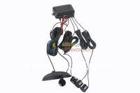 Система помощи при парковке Car AUTO 4 Parking SensorReverse System Backup Radar 12V DC 0.3 - 2.0m + LED Indicator new