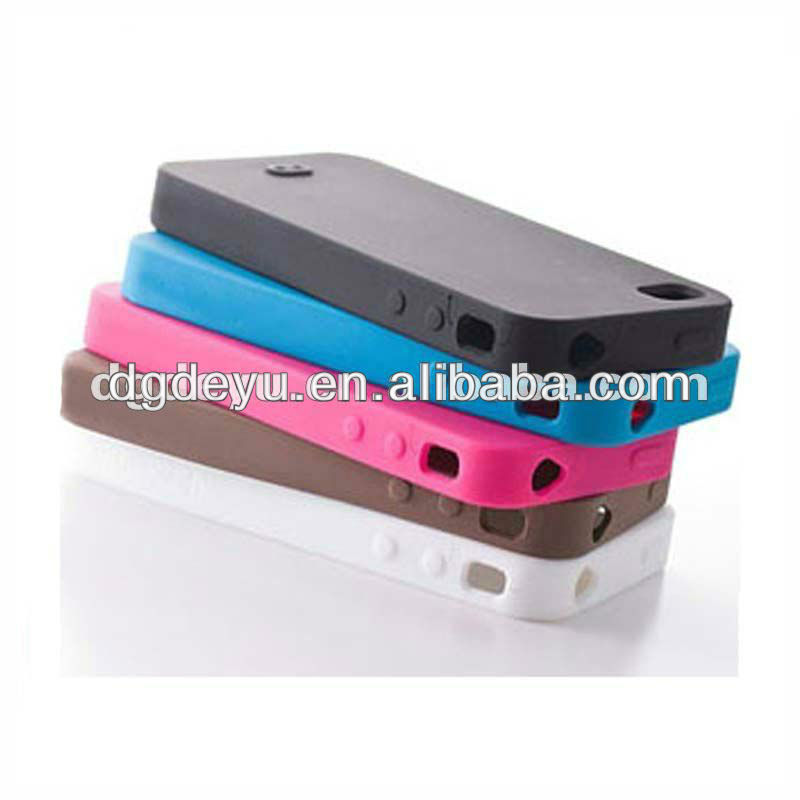 perfect manufacture for iphone5 silicone case cover