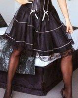 Free shipping!! Lace Mini Skirt Black tutu Sexy Lingerie wholesale retail 8509