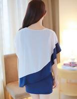 Женское платье New Ruffles Patckwork S/M/L/XL/XXL/XXXL DR-124