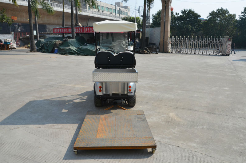 100% factory delivery with rear cargo box 2 seater electric van