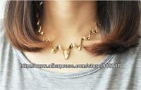Накладной воротничок punk Korean fashion wild wavy Lightning personalized collar necklace