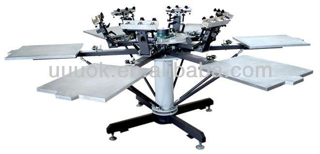manual silk screen printing machines