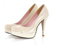 Туфли на высоком каблуке Korean fashion high heels, candy-colored shoes, casual dress shoes . Size: US4- US8