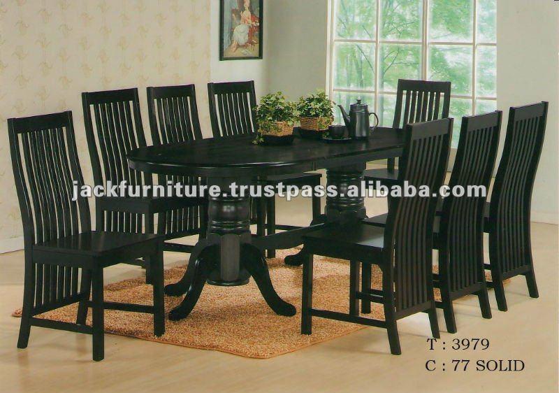 Muebles de comedor, juego de comedor de madera, madera muebles ...