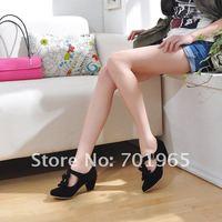 Туфли на высоком каблуке Bowknots And Buckle Embellished Single Shoes