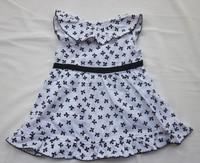 Комплект одежды для девочек Grils suit girl Dress coat+dress blouse+dress Size:80 90 100 110 120