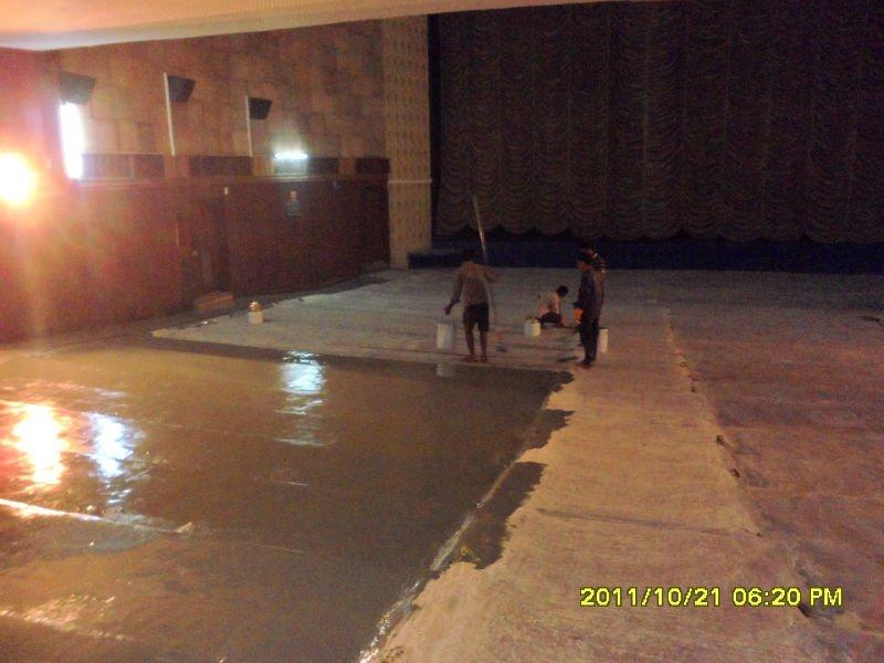 Maydos self leveling epoxy resin concrete flooring coating