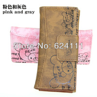 Кошелек hot sale fascinating children's wallets love bear small purse for student cartoon holder bag D1005 80*9*3 cm