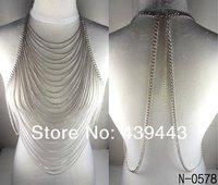 Колье-цепь necklaceLong
