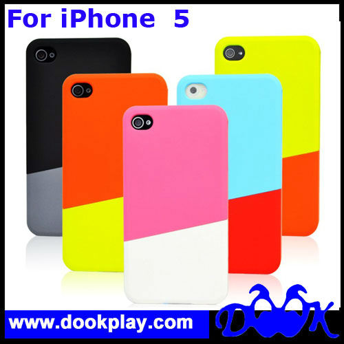 Hot Selling Hard PC Case For iPhone 5 Two Tone Case