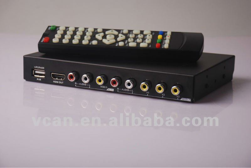 Car DVB-T/tdt MPEG4 TV Dual Tuner H.264 with PVR HDMI USB SD: DVB-T2010HD