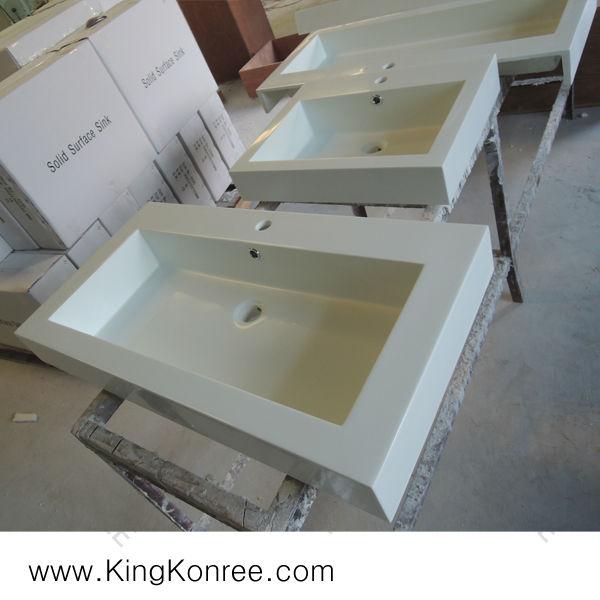 인공 돌 수지 욕실 싱크, 욕실 코너 싱크 세면대-욕실 싱크 -상품 ...