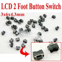 Кнопочный переключатель Un-branded 200pcs/3x6x4.3mm 2