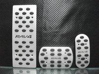 Специализированный магазин RAV4 abs Chrome Front Grille Around Trim 4Pcs 2007 2008 2009